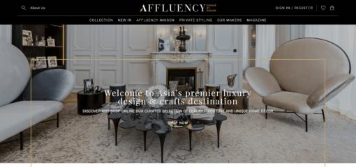 Affluency - Your online Luxury Design & Crafts